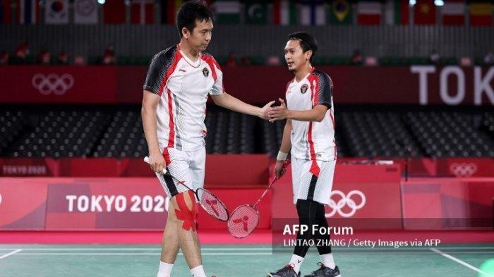 Olimpiade Tokyo 2020 : Head to Head Mohammad Ahsan/Hendra Setiawan vs Aaron Chia/Soh Wooi Yik