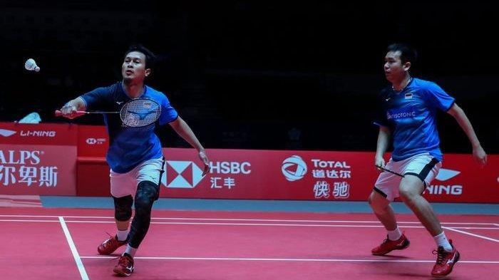 Jadwal Final BWF World Tour Finals 2019, Anthony dan Ahsan/Hendra Berharap Raih Gelar Juara