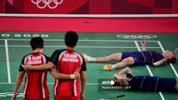 Olimpiade Tokyo 2020 : Smash Wakil Malaysia Pupuskan Medali Perunggu Mohammad Ahsan/Hendra Setiawan