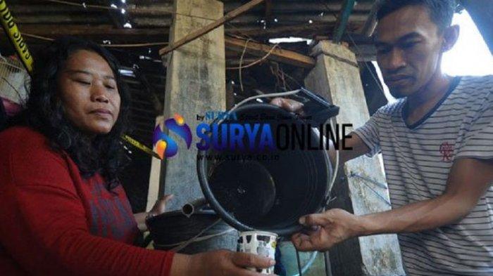 Heboh di Mojokerto, Air Sumur Diduga Mengandung BBM