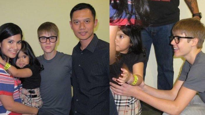 Annisa Pohan Kenang Momen Bertemu Justin Bieber, Cerita saat Aira Kecil Menolak Digendong Sang Idola