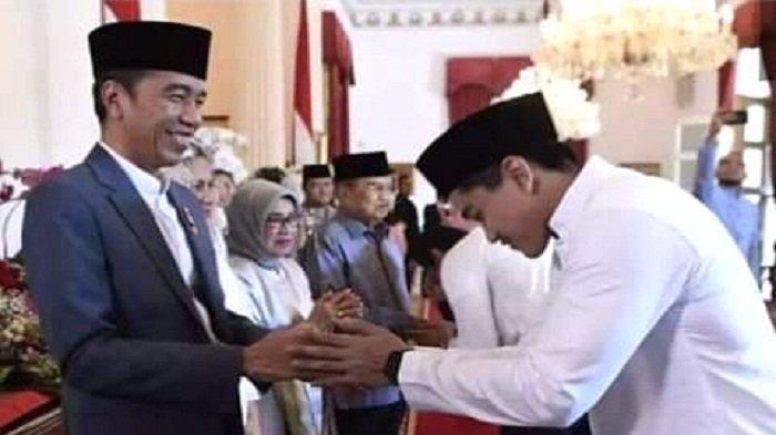 Momen Salaman dengan Jokowi di Istana Jadi Sorotan, Kaesang Beri Tanggapan Kocak