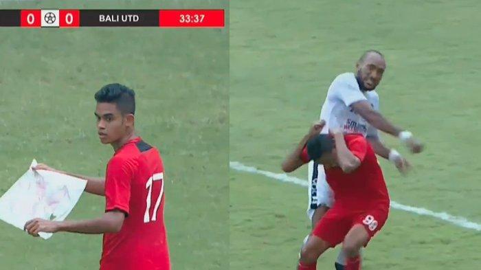 Di Balik Laga Persis vs Bali United : FT Tak Sampai 90 Menit, Diwarnai Insiden Layangan & Jotosan