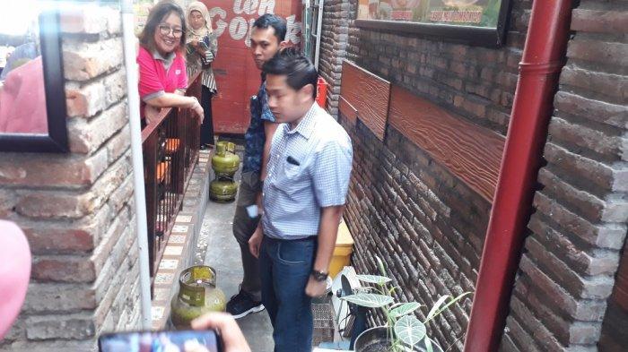 Disdag Surakarta Temukan 20 Tabung LPGTak Tepat Sasaran di Warung Makan