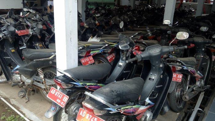 167 Unit Motor Bekas Kendaraan Lurah di Sukoharjo akan Dilelang