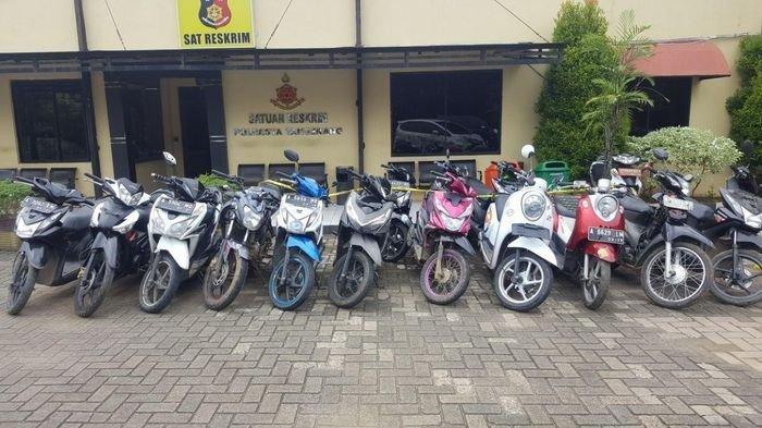 Heboh Daftar 47 Motor Berbagai Merek Diduga Hasil Curian di Solo, Polisi : Nanti Ada Publikasi Resmi