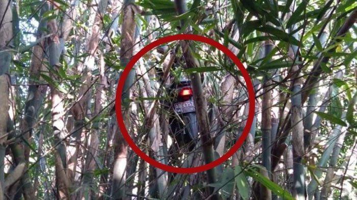 Misteri Motor 'Terbang' Nyangkut di Pohon Bambu Maguwaharjo Jogja, Ini Penjelasan Kepolisian