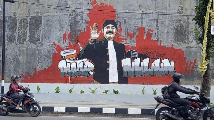 Spanduk & Mural 'Terima Kasih Rudy' Bertebaran di Jalan Juanda Solo, Lurah : Bentuk Apresiasi Warga