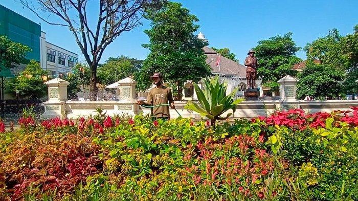 Ada Taman di Depan Loji Gandrung Solo : Terinspirasi Surabaya, saat Era Wali Kota Tri Rismaharini?