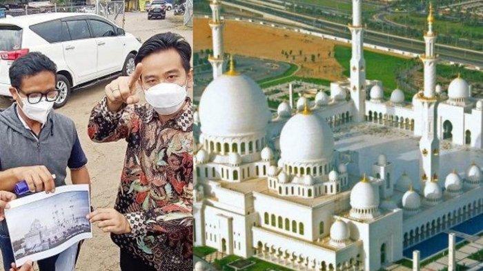 4 Fakta Masjid Pangeran Arab untuk Jokowi di Solo : Ditinjau Gibran, Mewah & Tampung 12 Ribu Jemaah