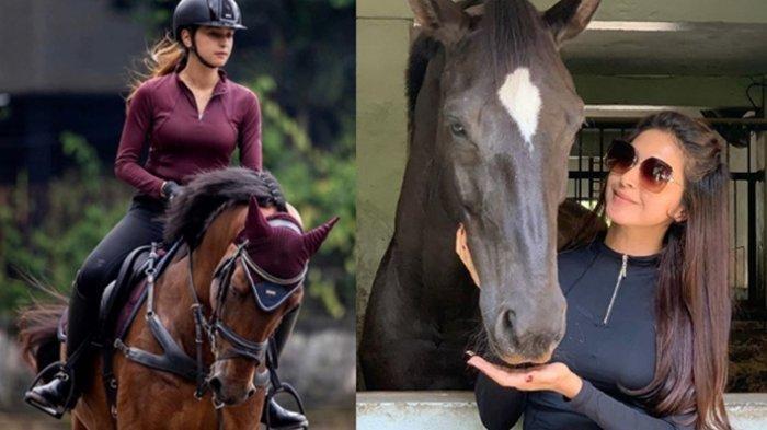 Nabila Syakieb Hobi Berkuda Sejak Masih Kecil, Sebut Biaya Perawatan Kuda Butuh Biaya Tak Sedikit