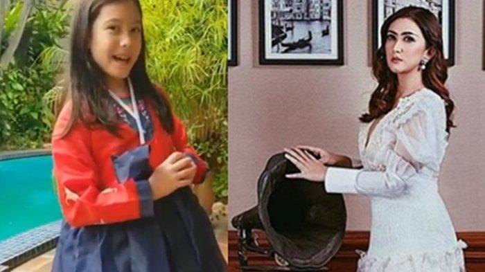 Hobi Nonton Drakor, Nafa Urbach Dijuluki Mirip Aktris Korea Jang Nara hingga Putrinya Pakai Hanbok