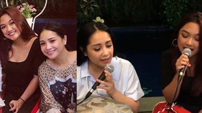 Nagita Slavina Nyanyi Bareng Marion Jola, Warganet Malah Cibir Penampilan Gigi yang Umbar Aurat