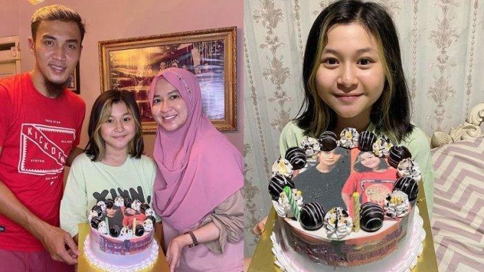 Sayangnya Gunawan Dwi Cahyo kepada Nasha: Putri Sambungnya Ultah, Siapkan Tart Bergambar Idol KPop