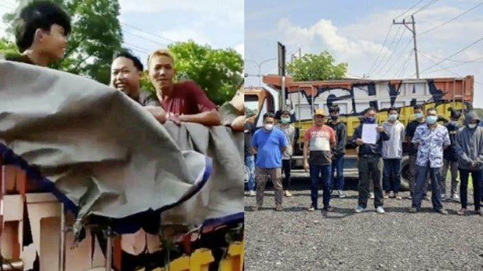 Nasib Para ABG Sragen yang Bikin Video Berendam di Bak Truk, Awalnya Senang, Kini Menunduk Lemas