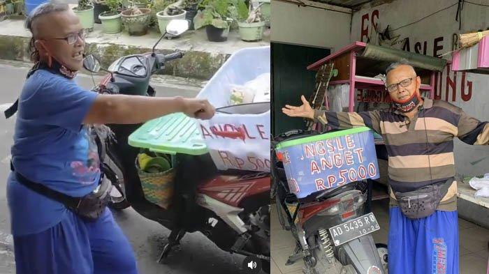 Kisah Nasiban, Penjual Angsle Nyentrik Kartasura : Jualan Sambil Joget, Malah Dicibir Tak Waras