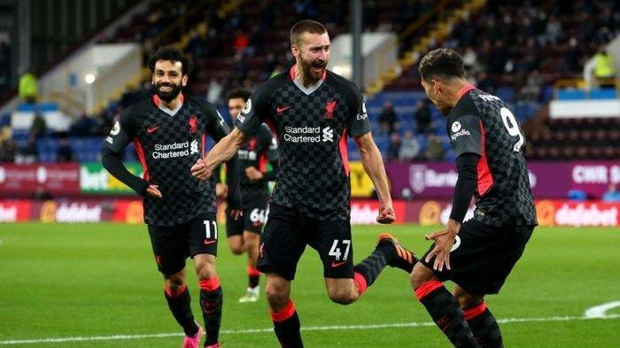 Liverpool menggasak Burnley dengan skor telak 3-0 di Stadion Turf Moor.