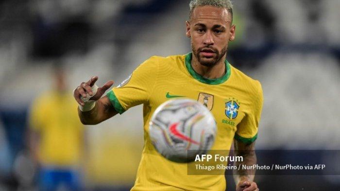 Neymar Jr di timnas Brasil