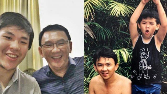 Nicholas Sean Putra Sulung Ahok Berikan Ucapan Ultah untuk Sang Ayah, Berharap BTP Cepat Pensiun
