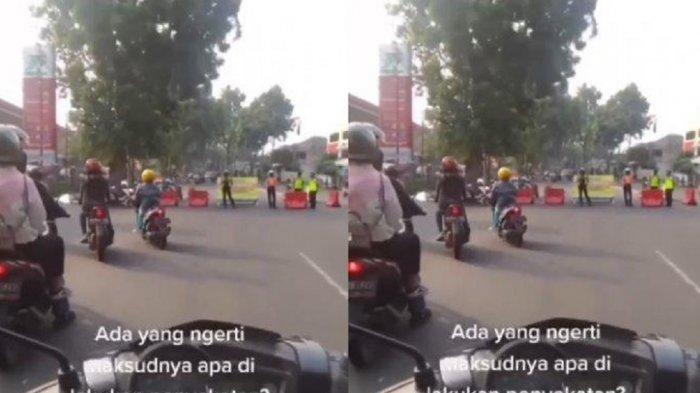 Viral Pengendara Lewati SPBU Supaya Lolos Penyekatan, Ini Penjelasan Kapolresta Bogor Kota