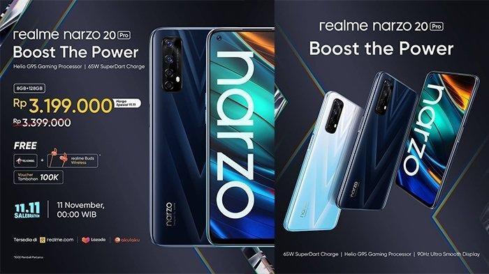 Harga Realme Narzo 20 Pro Terbaru November 2020, Dijual Mulai Rp 3,2 Jutaan dan Ini Spesifikasinya