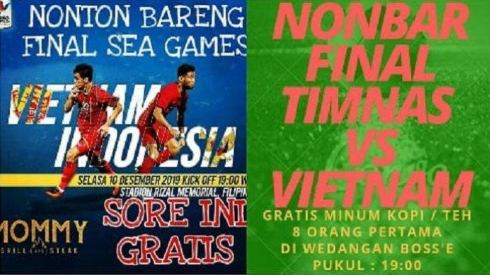 Info Nobar Timnas Indonesia vs Vietnam di Solo Raya, Penyelenggara Siapkan Kuis dan Hadiah Khusus