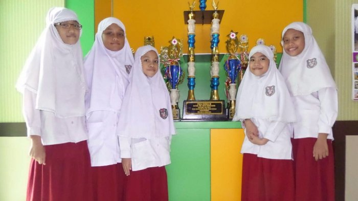 SDIT Nur Hidayah Solo Juara Umum Pesta Kreativitas PMR Kategori Mula