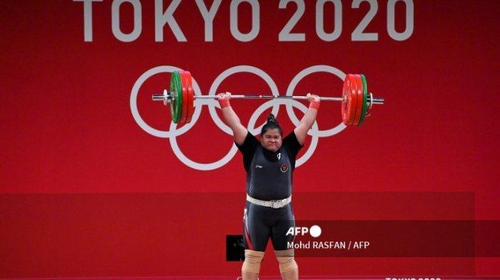 Atlet Lifter Putri Indonesia Berhasil Raih Peringkat Lima : Kalahkan Atlet Transgender Selandia Baru