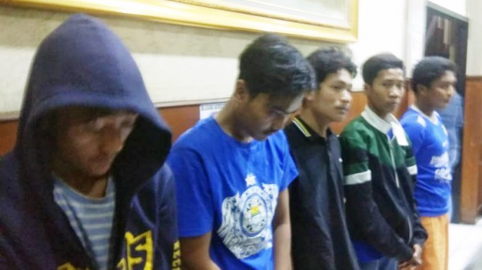 Kepada Polisi, Lima dari 10 Orang yang Diamankan Ini Mengaku Ikut Menganiaya Haringga Sirila