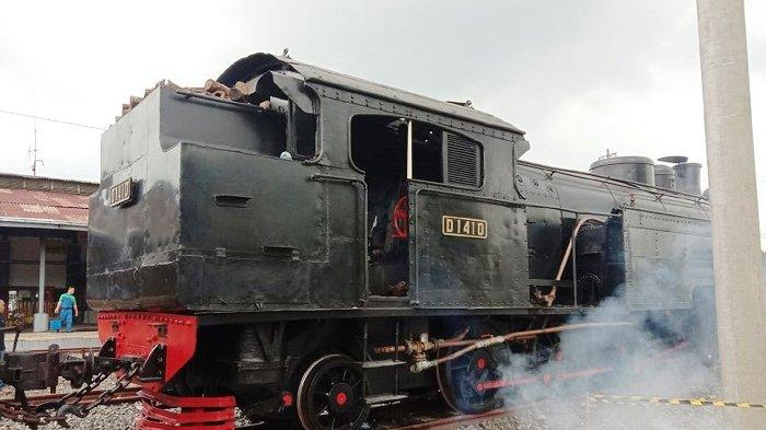 Kereta Uap Kuno Pabrikan Jerman 1921 Pesanan Jokowi Kembali ke Solo, Usai Diperbaiki di Yogyakarta