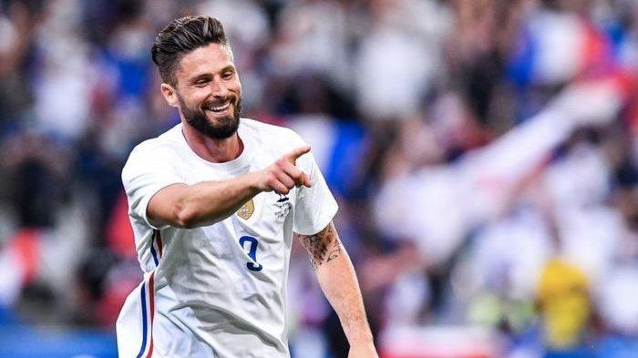 Taklukan Bulgaria, Olivier Giroud Berpeluang Jadi Top Scorer Timnas Prancis di Ajang Euro 2020