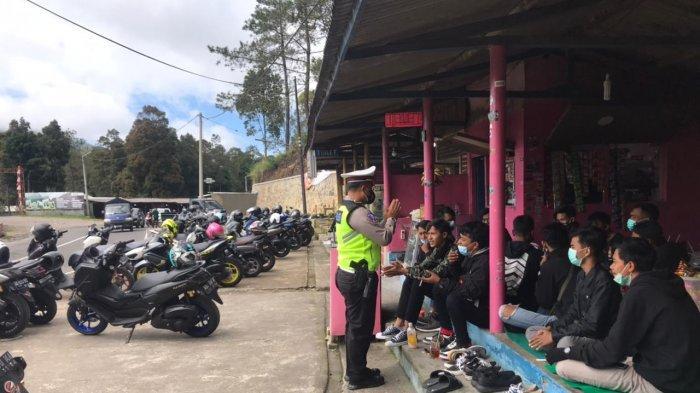 Viral Video Petugas Kepolisian Datangi Komunitas Motor di Tawangmangu, Dikira Ditilang, Ini Faktanya