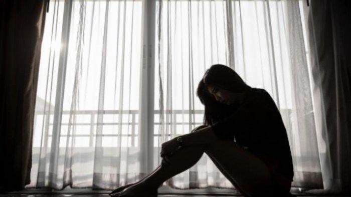 Ilsutrasi orang depresi.