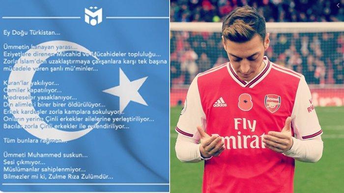 Inilah Terjemahan Tulisan Mesut Ozil soal Muslim Uighur, yang Membuat Murka Rakyat China
