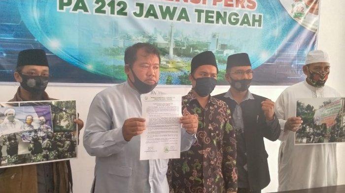 Pangdam Jaya Copoti Baliho Rizieq, PA 212 Jateng Protes & Buat Surat untuk Panglima TNI, Ini Isinya