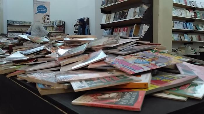 Foto-foto Pameran Buku Gramedia Solo, Harga Mulai Rp 5 Ribu