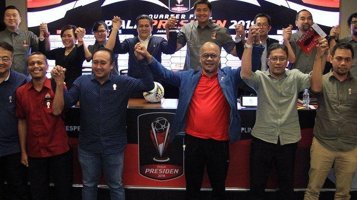 Jadwal Babak 8 Besar Piala Presiden 2019, Laga Perdana Persija Jakarta vs Kalteng Putra