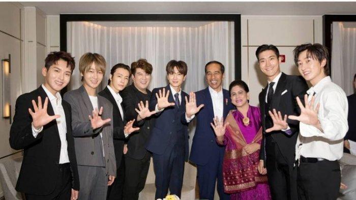 Saat Bertemu Jokowi di Korea Selatan, Ternyata Leeteuk Super Junior Mengaku Punya Pacar di Indonesia