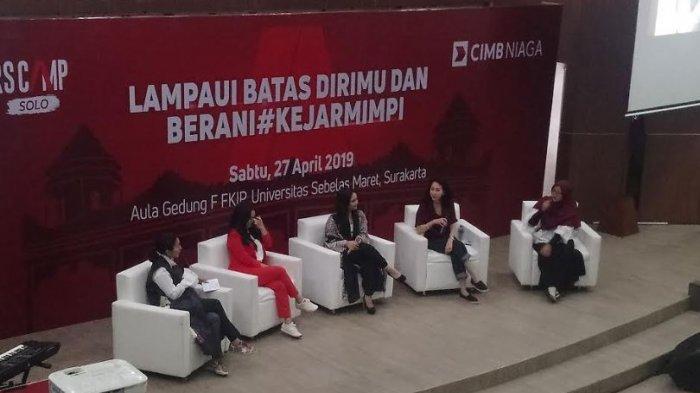 Gita Gutawa dan Cut Mini Jadi Pembicara dalam #KejarMimpi Leaders Camp di UNS Solo