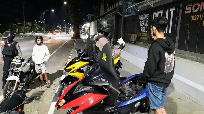 Razia Balap Liar Solo, Polisi dan Pelaku Kejar-kejaran Bak di Film, 9 Motor Diamankan