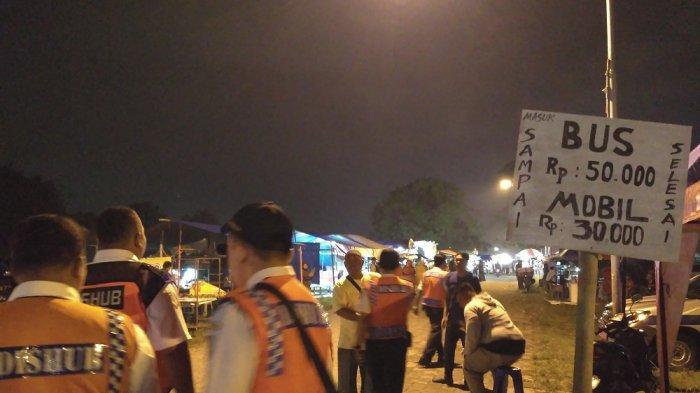 Tarif Parkir Bus Acara Haul Habib Ali Hingga Rp 50 Ribu, Dishub Solo Sidak ke Alun-alun Kidul