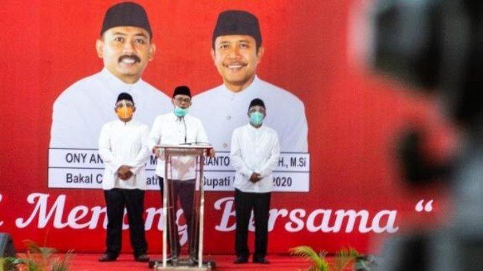 Ony Anwar - Dwi Rianto Jatmiko Resmi Maju di Pilkada Ngawi 2020 : Dapat Dukungan 10 Parpol
