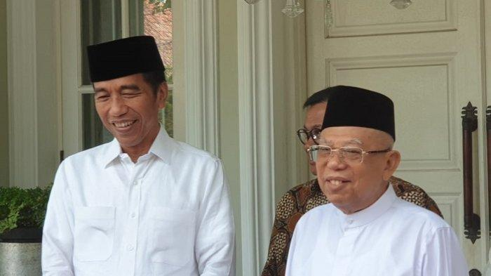 Jokowi-Maruf Tanggapi Hasil Sidang MK: Tak Ada Lagi 01 dan 02, Prabowo-Sandi Memiliki Kebesaran Hati