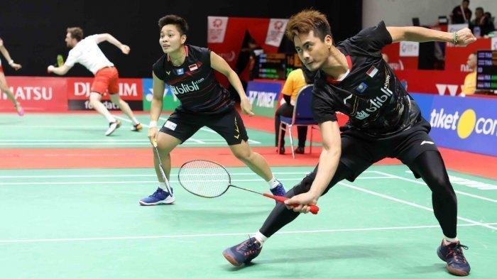Hasil Indonesia Masters 2020: Dikalahkan Wakil Inggris, Tontowi/Apriyani Gagal ke Perempat Final