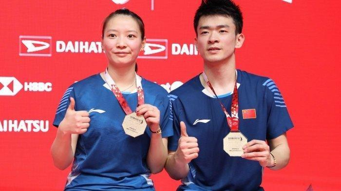 Zheng Siwei/Huang Yaqiong Sabet Juara Indonesia Masters 2020 dalam Waktu 25 Menit Saja