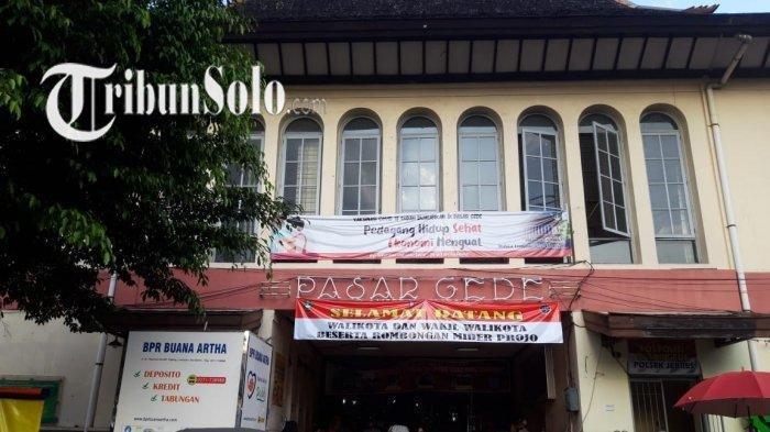Penjelasan Pemkot Solo, Mengapa Pasar Harus Tutup Sore, Beda dengan Aturan PPKM Pemerintah Pusat