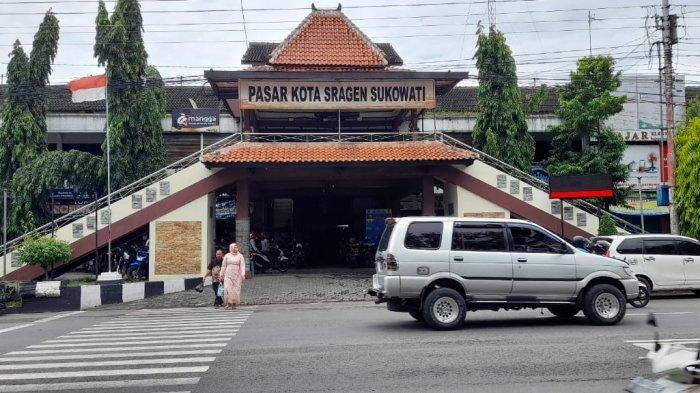 Ratusan Pedagang di Pasar Kota Sragen Belum Didata Vaksinasi Tahap II, Sudah Ada Sosialisasi