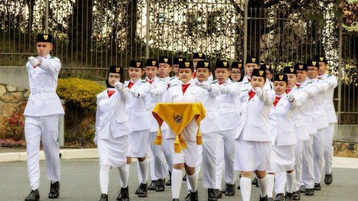 Perjuangan Paskibraka di Canberra, Tempuh Suhu Minus 7 Derajat Demi Kibarkan Sang Merah Putih