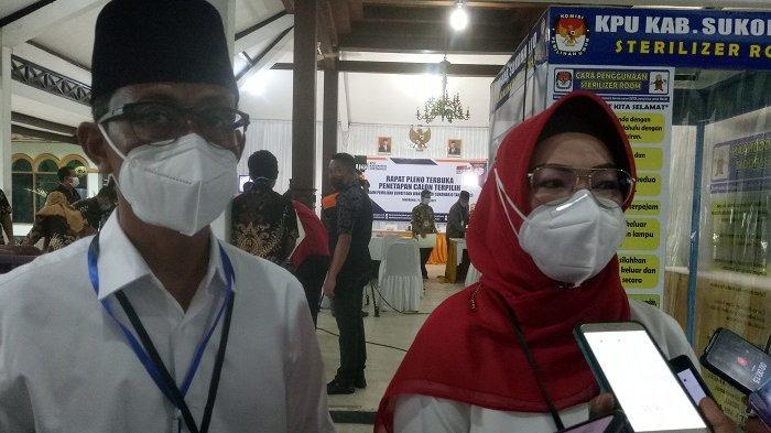Paslon Bupati - Wakil Bupati Sukoharjo terpilih, Etik Suryani - Agus Santosa