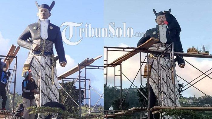 Patung Raja Keraton Solo Setinggi 4 Meter Berdiri di Boyolali, Ini Cerita Mengapa Dibangun di Sana